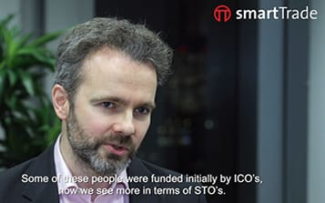 John, smartTrade's Head of PreSales, talks about cryptoplatform with the Trade News TV.