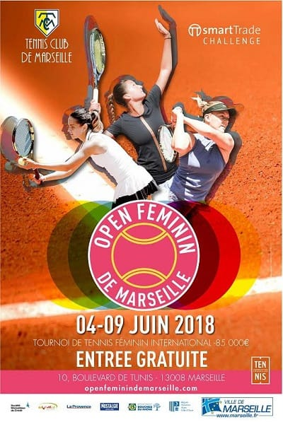 smartTrade partner of Tennis Open Feminin de Marseille
