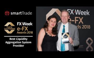 smartTrade wins Best Liquidity Aggregation System Provider eFX Awards 2018