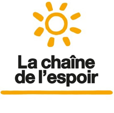 Le Chaine de l'Espoir logo 2